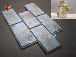 Византийская стена - камень для бесклеевого монтажа